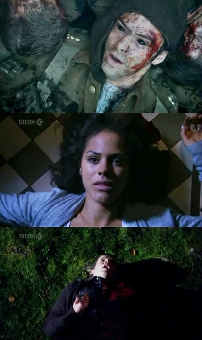Everyone deserves a death. Being Human (UK) Kinda creepy, but in context of the show, merciful. Mitchell, Annie, George.