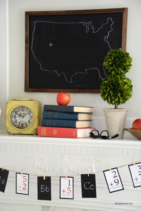 DIY back to school banner  from Michaels Makers The Idea Room