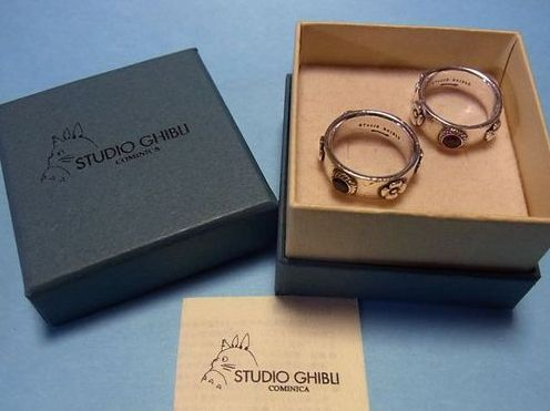 Studio Ghibli Howl's Moving Castle Rings. Sterling Silver Ruby or sapphire. I NEED YOU!