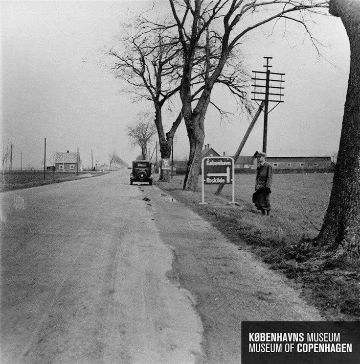 Roskildevej, Taastrupvej, Solrød Byvej 1934