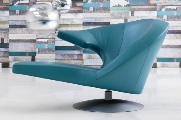 Parabolic Lounge Chair by Stefan Heiliger
