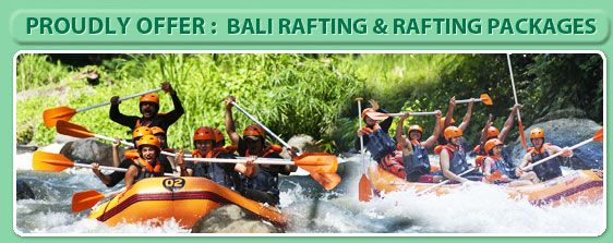 RAFTING + ELEPHANT RIDE + MONKEY FOREST + TANAH LOT TOUR | Ayung River Rafting