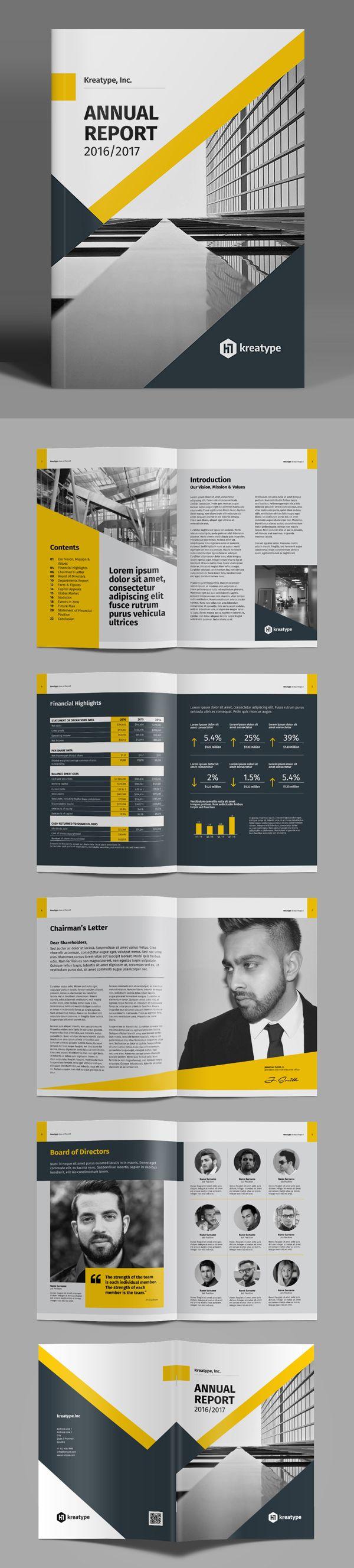 Kreatype Annual Report #annualreport #booklet #brochuredesign #brochuretemplates #fashioncatalog #catalogdesign