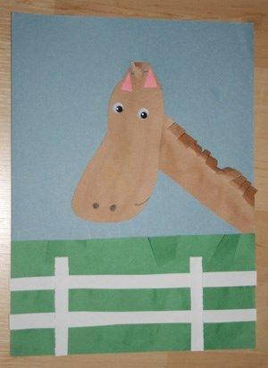Footprint Horse Craft Farm Theme Pinterest Farming Farm