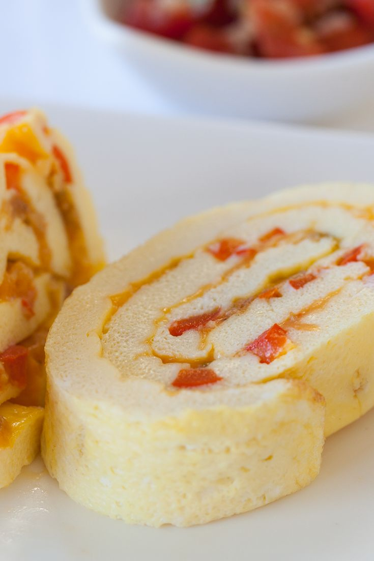 #Epicure Cheesy Omelet Roll