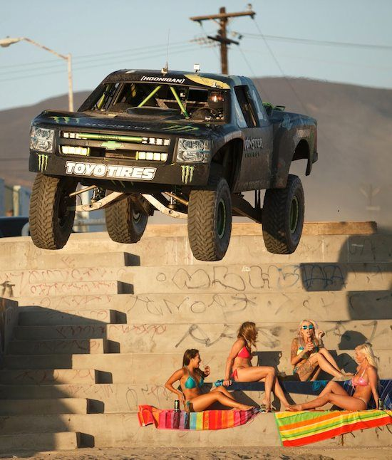 BJ BALDWIN CHALLENGE DAN BILZERIAN WHO AMONG WILL WIN THE RACE WILL IT BE HIS 800 HP TRUCK OR DAN'S HELICOPTER!