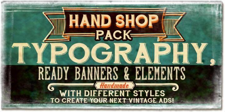 Hand Shop Pack - Webfont & Desktop font « MyFonts