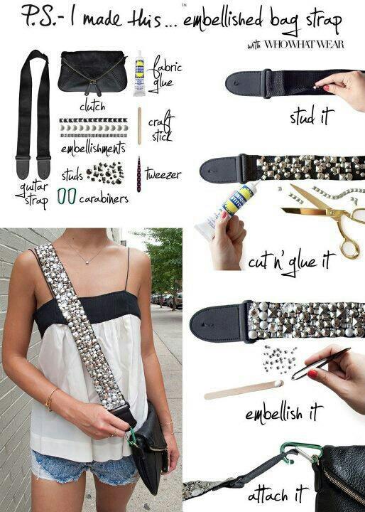 fashion DIY Camera Strap Video