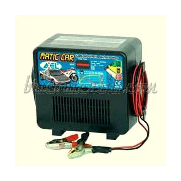 Caricabatteria Matic Car Elettronico 12V 6 Amp - Protezione termica a ripristino automatico Possono rimanere collegati permanentemente senza il rischio di danneggiare le batterie.