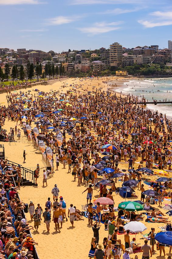Australian Open of Surfing, Manly Beach, Sydney, Australia | Blaine Harrington