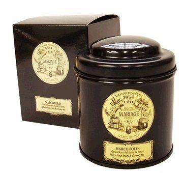 マリアージュフレール マルコポーロ 100g, http://www.amazon.co.jp/dp/B001N26WCE/ref=cm_sw_r_pi_awdl_353utb0FWH0B4 ♡オリエンタルフラワーの香り。中国茶好きにはたまらない!