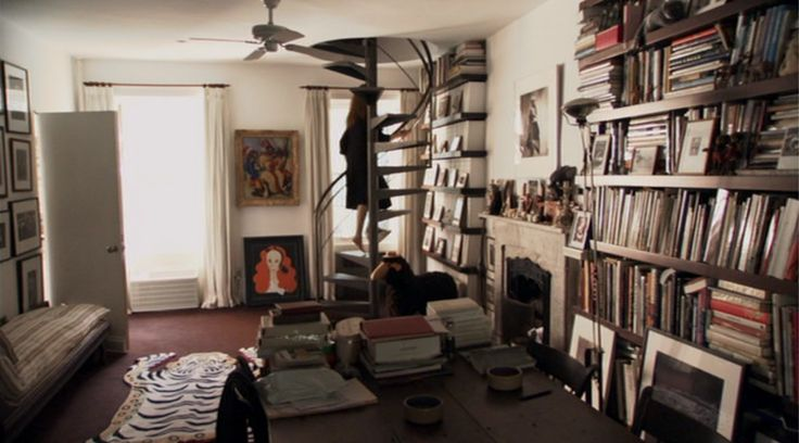 Grace Coddington S Home In Nyc Bachelor Pad Pinterest
