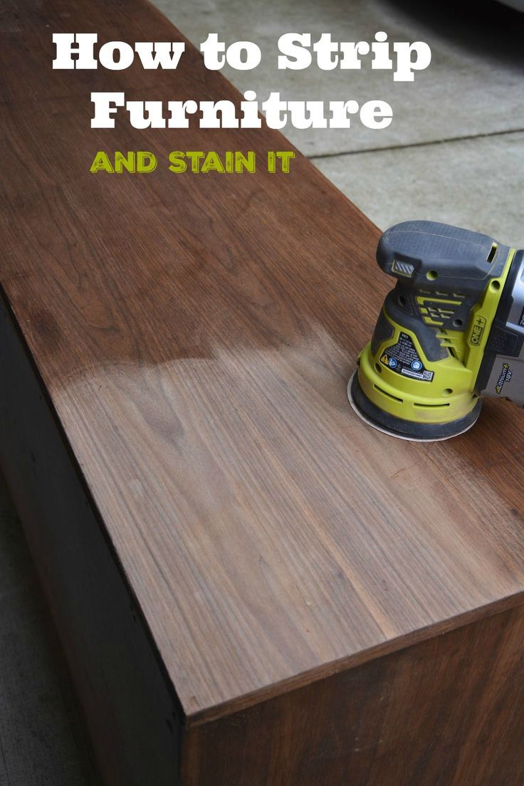 Learn how to strip furniture and stain it with this step-by-step guide. Get answers to the these questions about furniture stripping: Can you strip furniture by sanding? Strip vs. sanding? When should you strip furniture? What do use to strip furniture? Find out the answers to all these questions in this in-depth blog post. - Thrift Diving