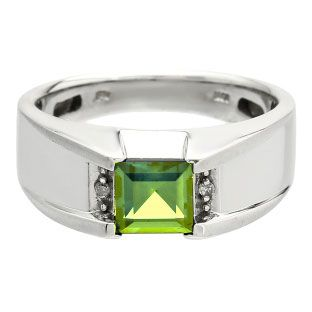 25 best Mens Peridot Rings images on Pinterest Mens gemstone rings