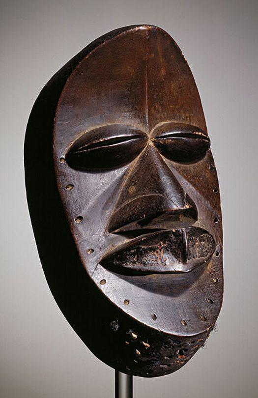 Dan or We people; Mask, Ivory Coast, before 1914, Musée Dapper, Paris