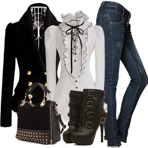 Outfit Ideas For Ladies...                                                                                                                                                                                 More