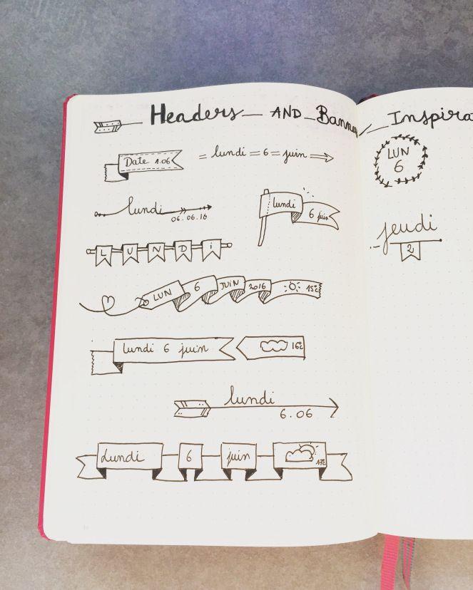 Nouveau bullet journal + préparation du mois de Juin – Invente Ta Plume
