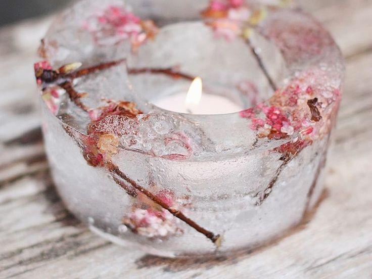 DIY-Anleitung: Windlicht aus Eis selber machen via DaWanda.com