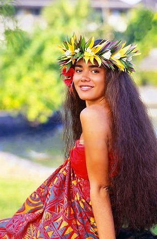 Hawaiian,, pretty (: