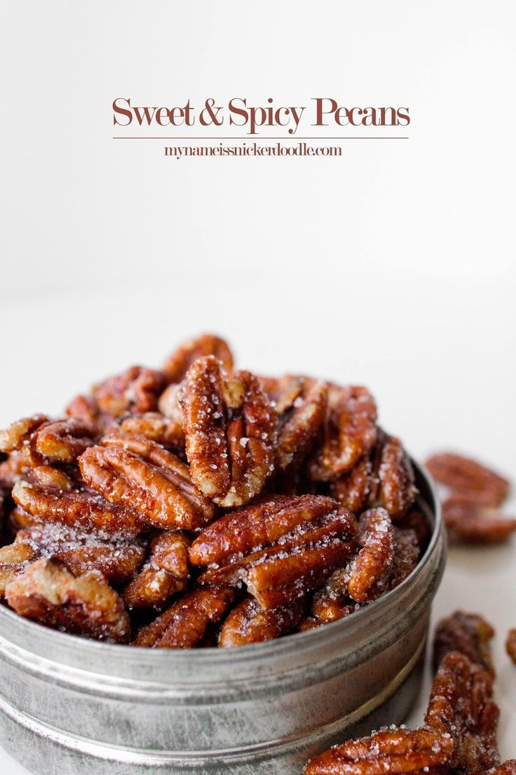 Sweet and Spicy Pecans Recipe                                                                                                                                                                                 More