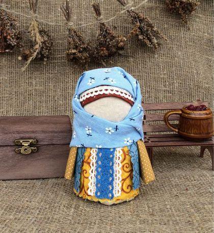Народные куклы ручной работы. Ярмарка Мастеров - ручная работа. Купить Куколка Крупеничка-Зерновушка. Handmade. Бордовый, народный стиль
