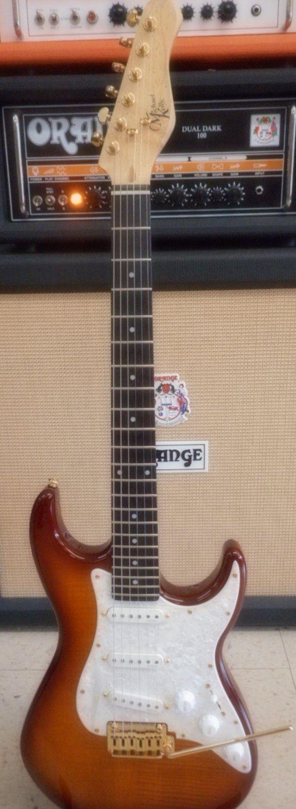 Demo Michael Kelly 1960 Evolution Electric Guitar
