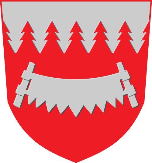 Municipality of Taivalkoski, Finland, Area (2437.95 Km²) #Taivalkoski #Finland (L20567)