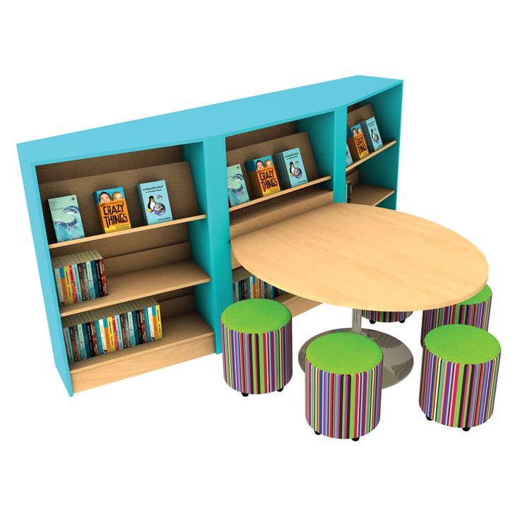 School Library Furniture: Study Pod