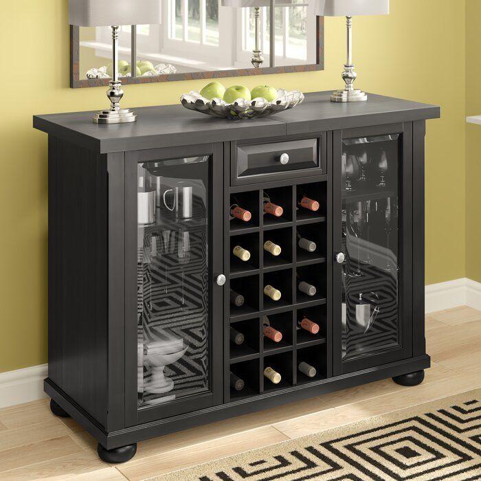 Solid Wood Corner Liquor Display Cabinet With Wine Storage Home Bar Cabinet Wine Bar Cabinet Corner Wine Bar
