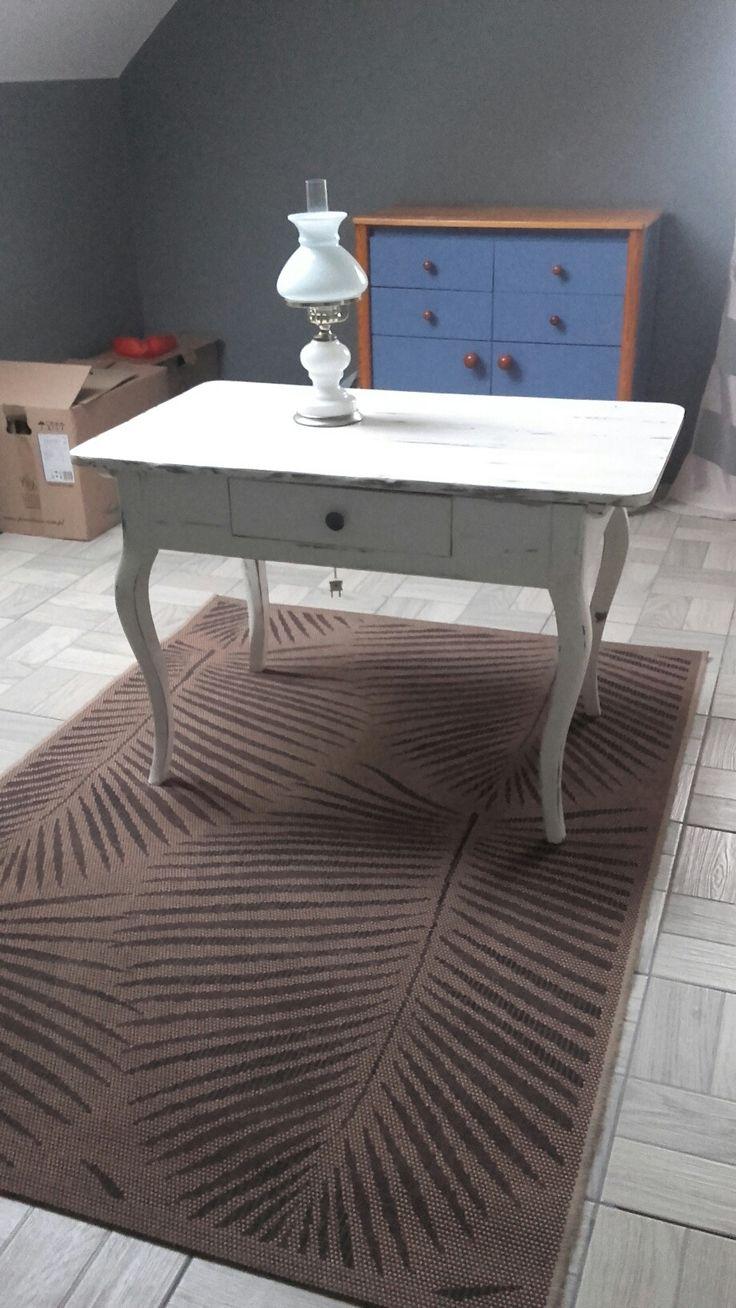 100 letni stolik po renowacji