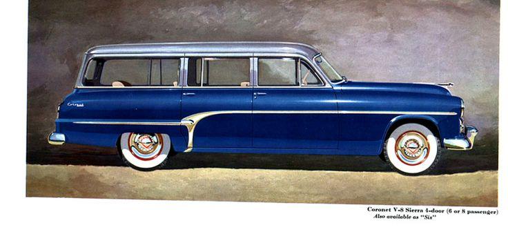 1954 Dodge Coronet Sierra Station Wagon
