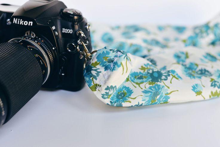 Как сшить ремень для фотоаппарата из ткани