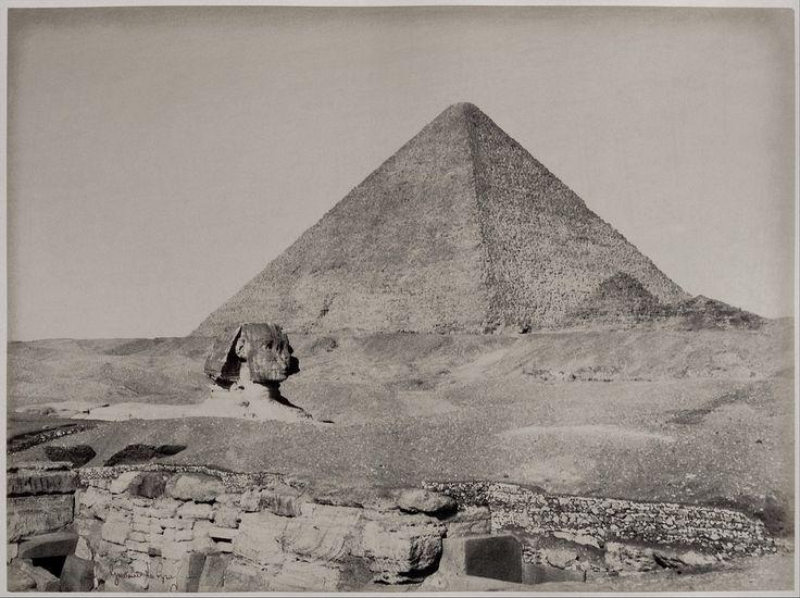 Pyramides de Gizèh 1865