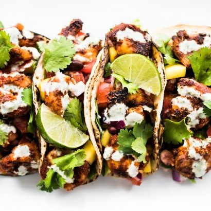 Blackened Shrimp Tacos with Black Bean Mango Salsa and Jalapeño Aioli – spicy, tangy, sweet, and completely delicious! Bring an appetite and lotsnapkins! Last month, Mr. HNN and I flew to Amelia Island, FL to see his parents new house. They recently retired after spending 30-some years in Germany…juusta bit of a culture adjustment. We...Read More »