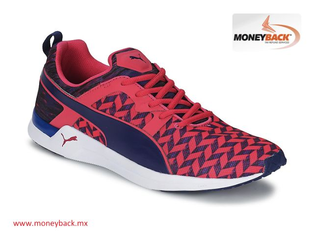 MONEYBACK MEXICO.The Pulse XT Clash from PUMAis a training shoe for women; it is light, breathable and very flexible, with a mesh that provides ventilation,very comfortable and made with rubber outsole for enhanced grip, perfect for the gym. PUMA Mexico is a business affiliated to our tax return service for foreign tourists visiting Mexico.#moneybackwww.moneyback.mx MONEYBACK MÉXICO.El Pulse XTClash de PUMA es un zapato de entrenamiento para mujeres; es ligero, favorece la transpiración y…