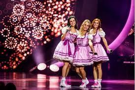 Marthe, Klaasje en Hanne worden overal genoemd als de nieuwe K3. En Kristel Verbeke was duidelijk onder de indruk van hun prestatie van het jodelliedje ' ...