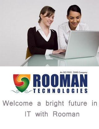 Training provided by Rooman ensures the development of skills and aptitude most necessary for getting yourself placed successfully in IT.