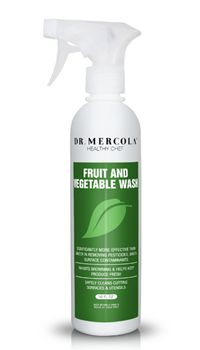 Dr. Mercola's Organic Fruit and Vegetable Wash