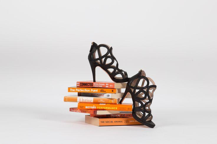 Get the smart comfy black heels