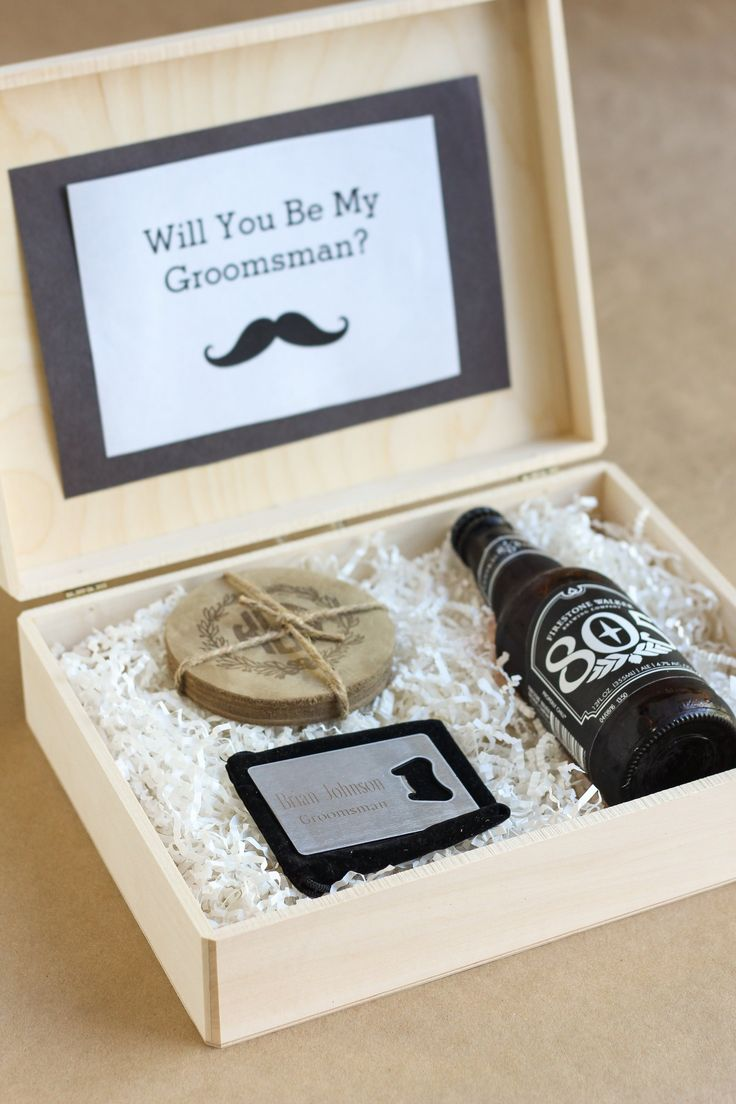 """""""Will you be my groomsman?"""" They'll definitely say yes when you gift them with one of these perfect gifts! 