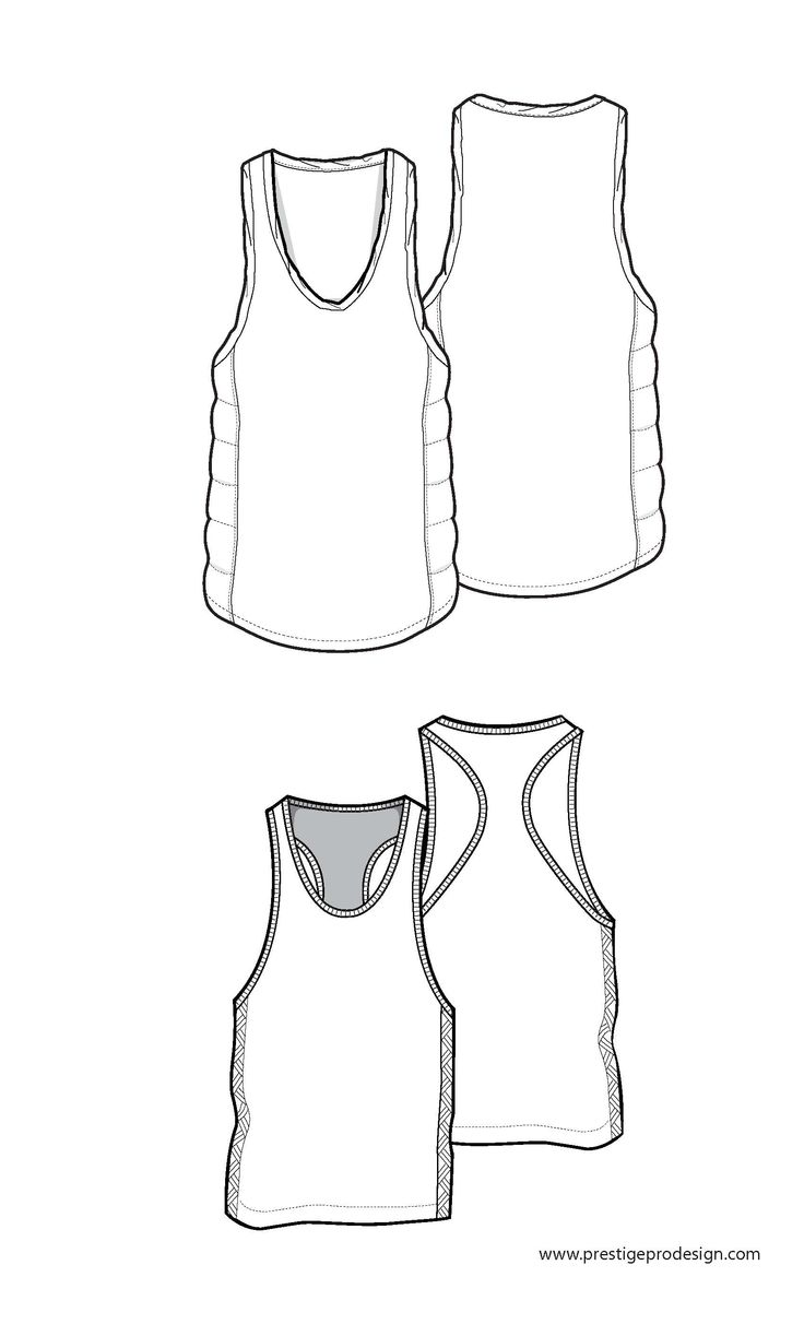 31 best images about free mens fashion flat sketches on for Vest top template