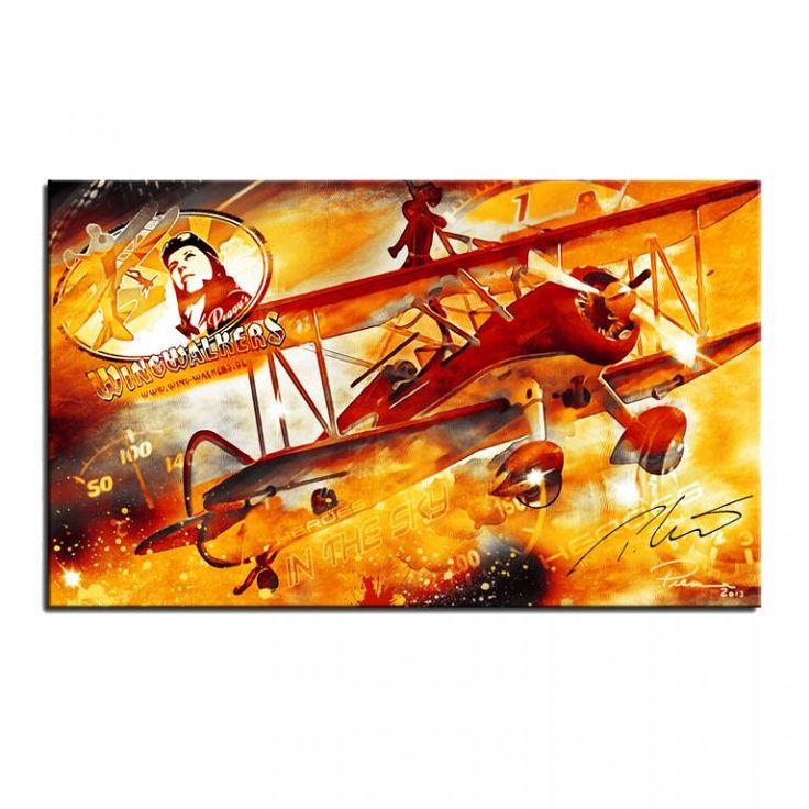 """Ein individuelles Kunstwerk von """"Pilotessadesign"""" für die Wing ..."""