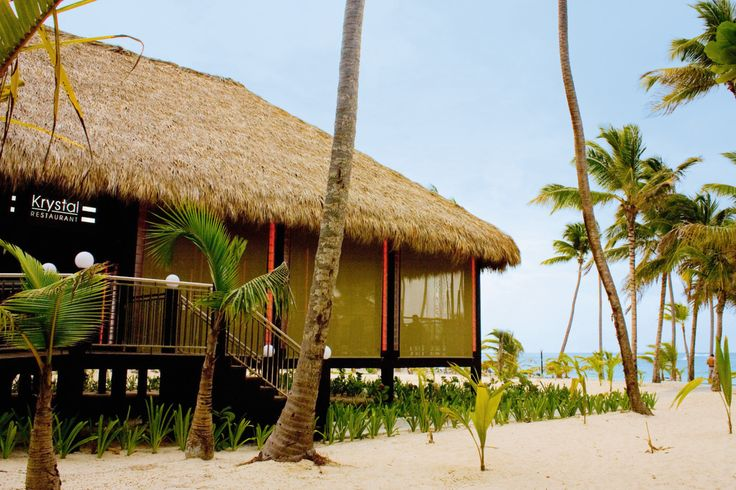 Arena Gorda Beach, Punta Cana, Dominican Republic - Krystal restaurant by the beach - Riu Palace Macao - All Inclusive hotel