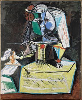 Picasso. La infanta Margarita del cuadro Las Meninas. 1957. http://www.taringa.net/posts/arte/3208985/Las-Meninas-olvidando-a-Velazquez.html#