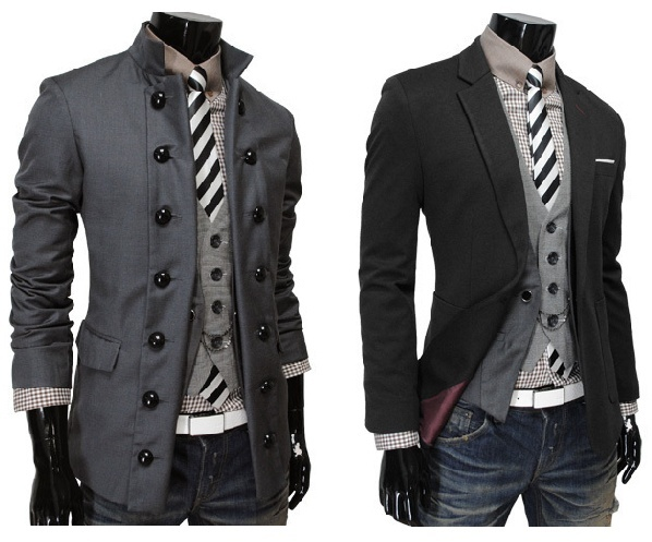 if a handsome man showed up in my life wearing either of these outfits, i don't care if it takes my whole lifetime, but i will marry him!
