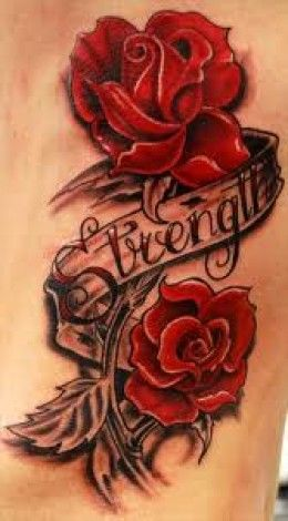 Great flower tattoo ideas and meanings rose tattoos for Red rose tattoo meaning