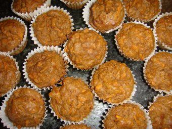 Mini Carrot Spice Muffins (Coconut Flour) | Gluten Free Real Food