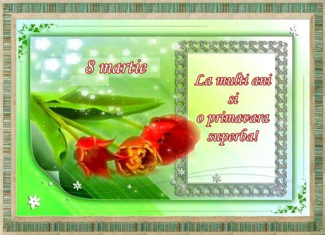 Felicitari noi si originale pentru 8 Martie