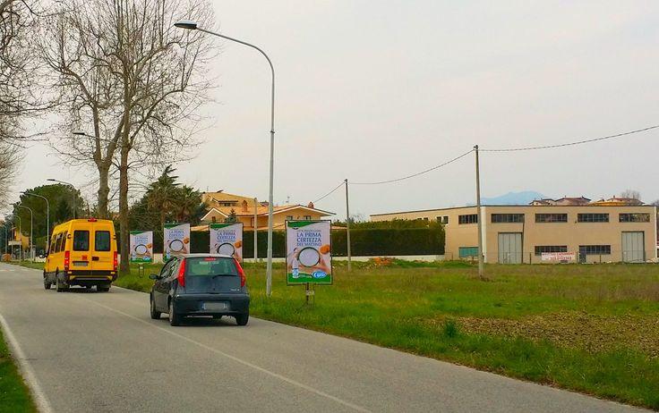 Affissione e stampa di manifesti sequenziali bifacciali committente TRE VALLI. #manifesti #bifacciali #affissioni  #Maltignano, #Abruzzo
