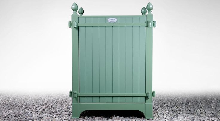 Symphonie Planters - CHANSON is a beautiful and classical Versailles-style tree box. Built to be extremely durable, its frame, columns, and bars are made from zinc-galvanized steel, which is further protected with oven powder coating paint.